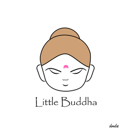 Face of Little Buddha