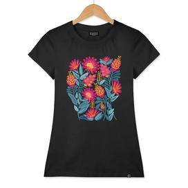 Bold Modern Floral Design