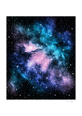 Unicorn Galaxy Nebula Dream #1 #decor #art
