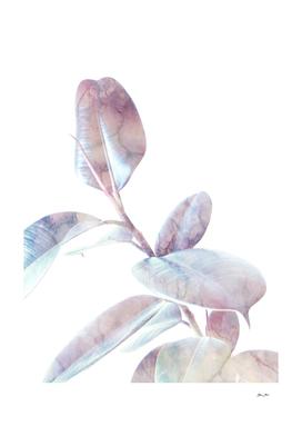 Marble Foliage on White