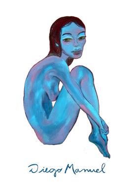 Blue gir