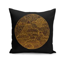 Golden Zen Landscape