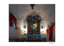 Montenegrin Chapel Interior