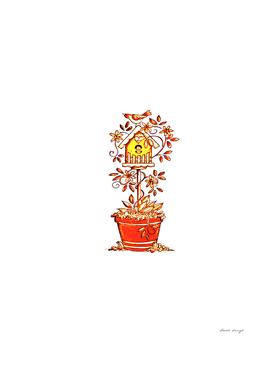 Birdhouse Plant a