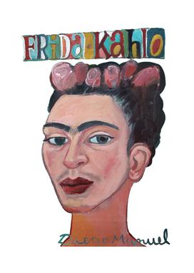 Frida portrait 2