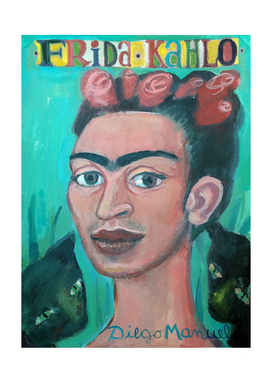 Frida portrait 3
