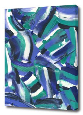 Tara Abstract Brushstrokes