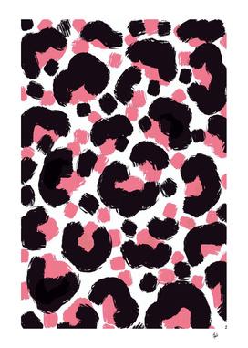 Leopard Print Brushstrokes