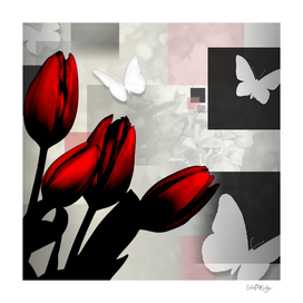 Assorted Squares, Flowers & Butterflies