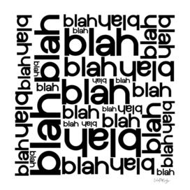 Blah Blah Blah Typography