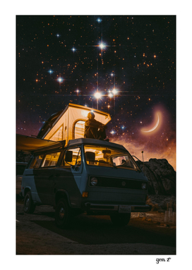 In van under the stars by GEN Z