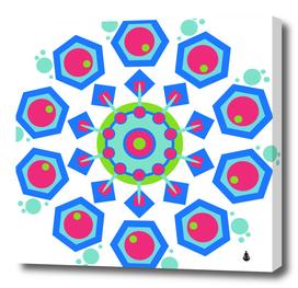 Mandala geometric design pattern