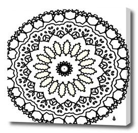 Mandala kaleidoscope arts