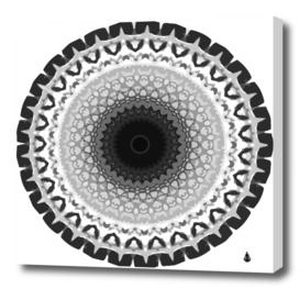 Mandala calming coloring page