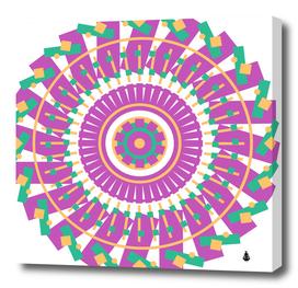Mandala geometric pattern shapes