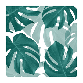 Monstera Leaves Vibes #1 #tropical #foliage #decor #art
