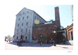 Gooderham and Worts 19th C Distillery