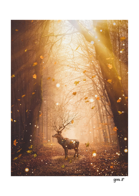 Morning Magic Deer by GEN Z