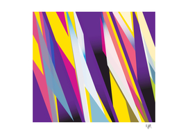 Abstract in Purple 02