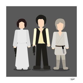 Star Wars Trio