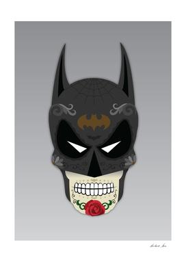 Dark Knight Sugar Skull