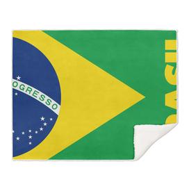 BRAZIL, Brazil flag, Brazil Poster, Tshirt, Canvas