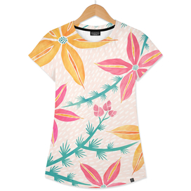 Bright Tropical Floral