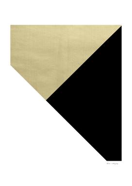 Gold meets Black & White Geometric #1 #minimal #decor #art