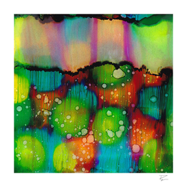 Multi Colored Abstract Pattern