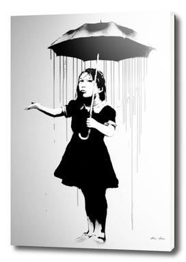 Banksy Art, Nola, grey version