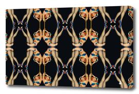 Kaleidoscope symmetry pattern girls