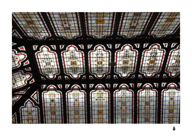 Stained glass window repeat