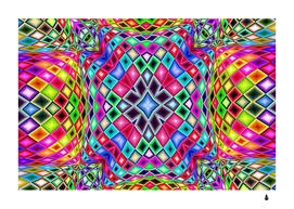 Kaleidoscope pattern sacred geometry