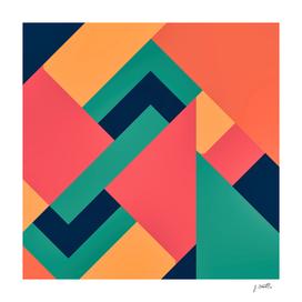 Abstract Design, Mid Century Art