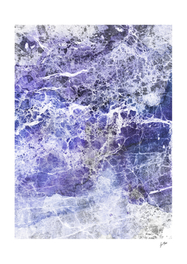 Organic Purple Abstract Marble