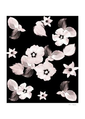 Rose Blush Floral Dream #1 #flower #pattern #decor #art