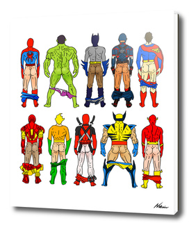 Super Hero Butts