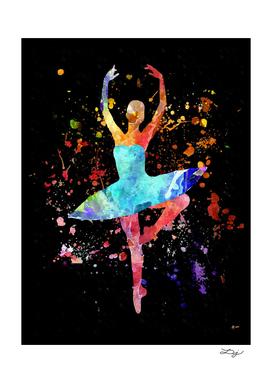 Ballerina Blacky Black