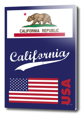 CALIFORNIA Poster, T-shirt, Cali Vibes
