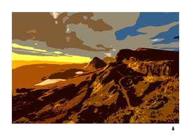 Scotland Monti Mountains Mountain