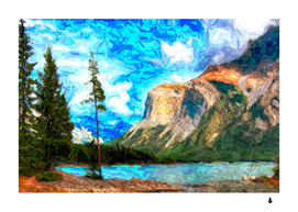 Painting Paintings Mountain