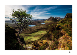 Landscape Quairaing Scotland