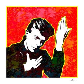 David Bowie | Splatter Series | Pop Art