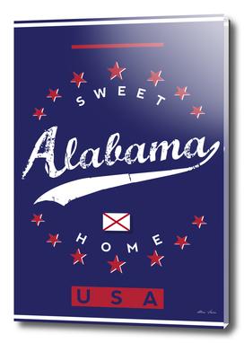 Alabama, Alabama poster, Sweet Home