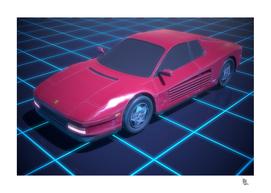 Neon Drive - Synthwave Hardcopy # 01
