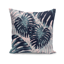 Tropical Monstera Jungle Leaves Pattern #2 #tropical #decor