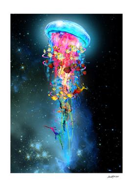 Super Jellyfish In Space