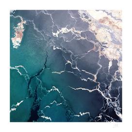 Abstract ice creak