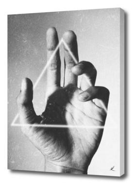 Hand + Triangle