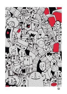 cartoon mix